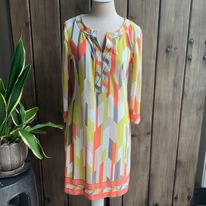 London Times dress with 3/4 sleeves